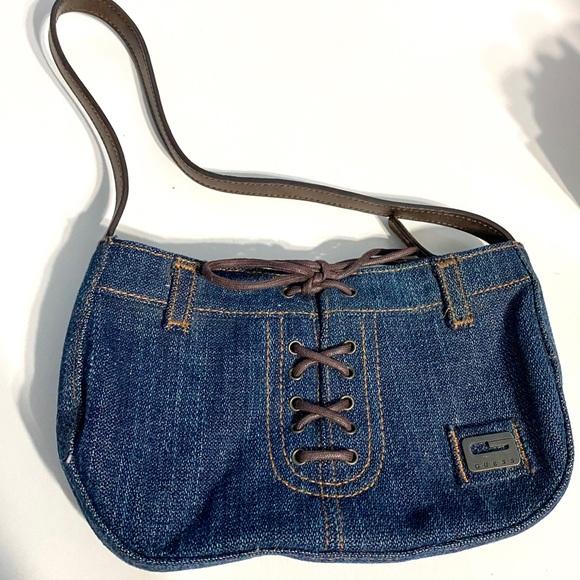 Guess Handbags - Guess Vintage Denim Purse